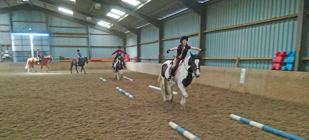 Indoor Class - RIding Lesson