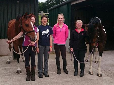 Aberconwy Equestrian Centre goes international!
